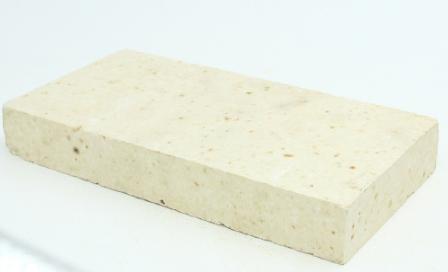 二分片高铝砖